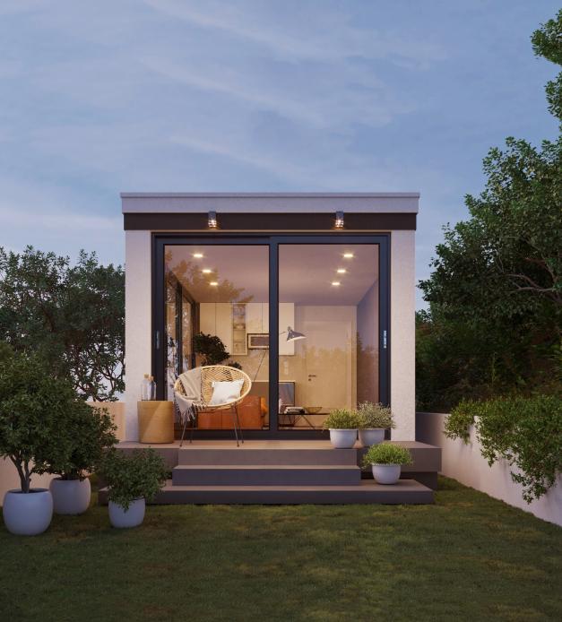 3D Exterior Rendering light house image