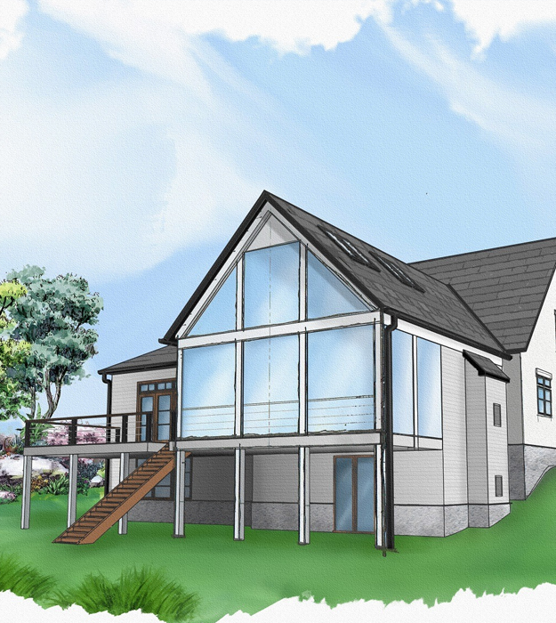 2D house image