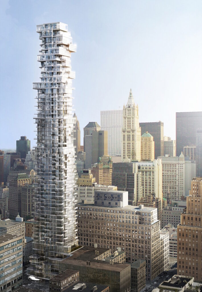 3D Exterior Rendering 56 Leonard Street image