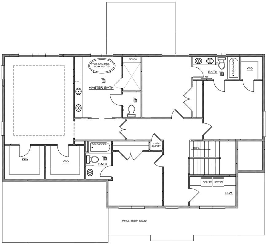 2D floor plan right