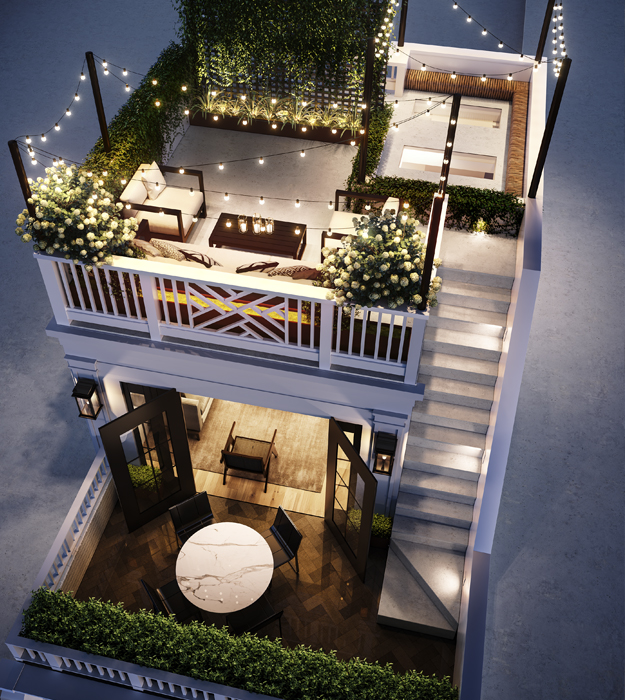 Devine Roof Deck House