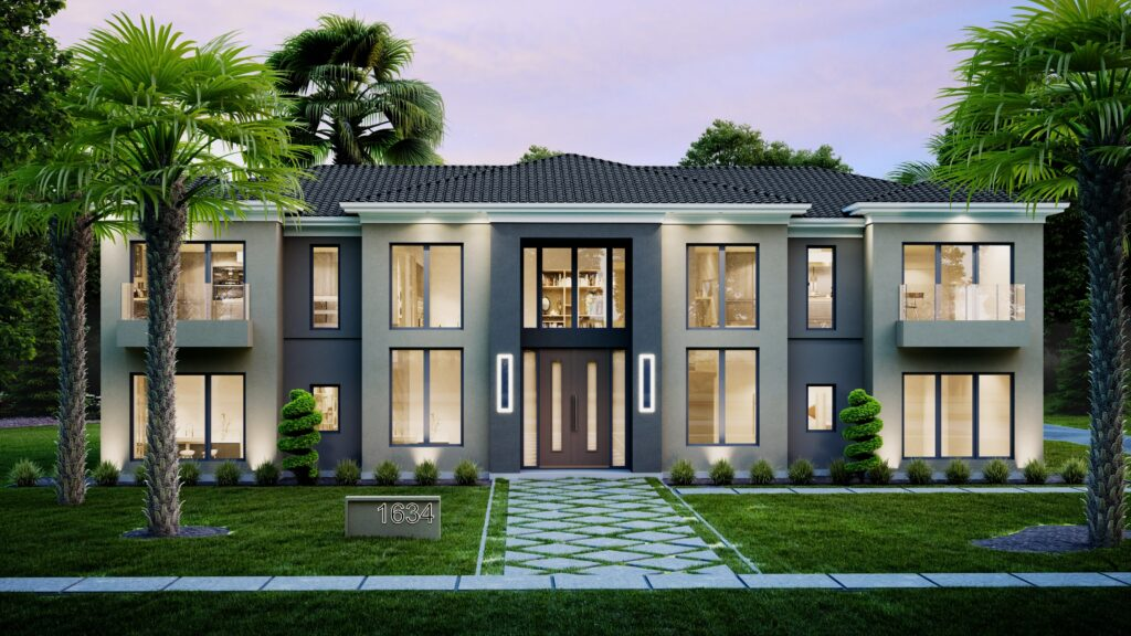 Exterior Rendering House image