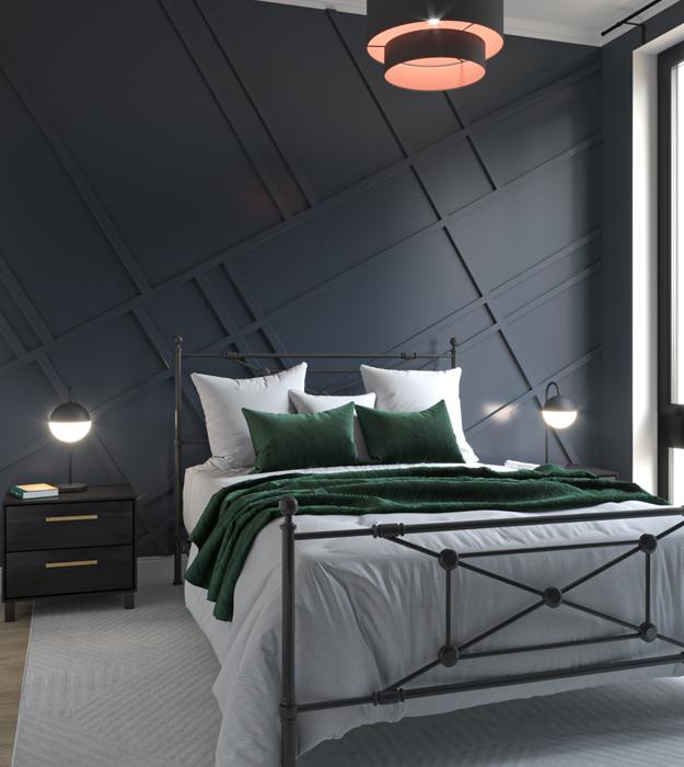 Master bedroom unit