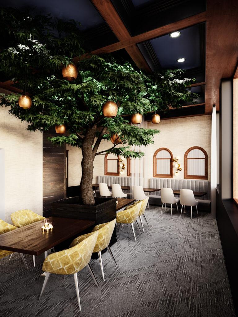 Blue Jay Bistro Dining room interior image