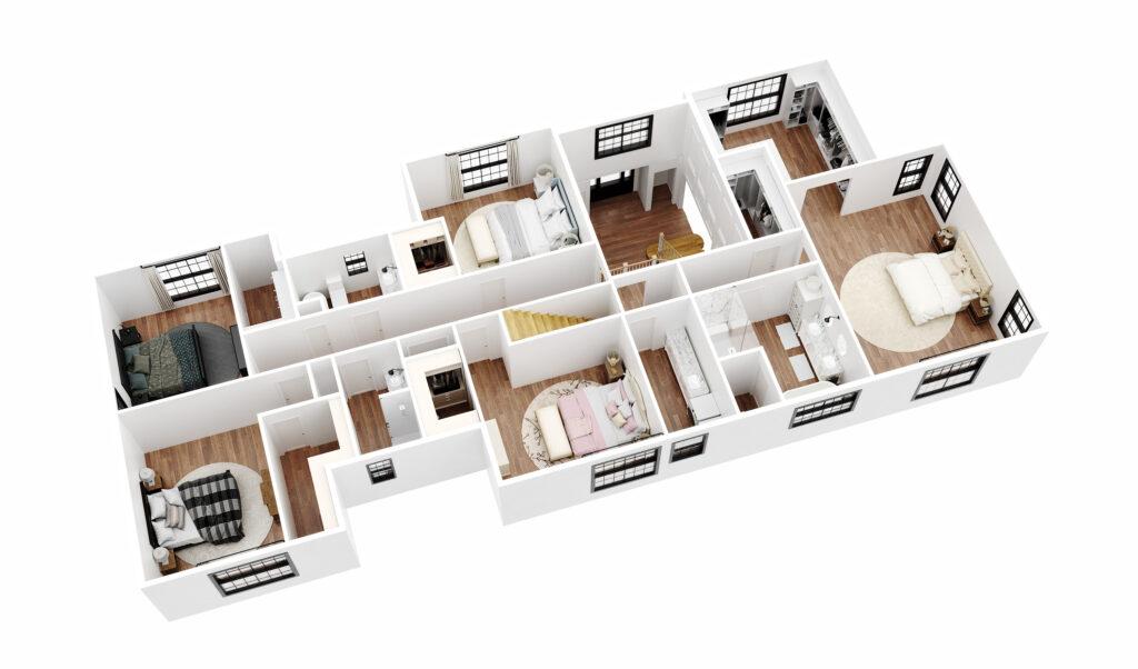Ellison floor plan image