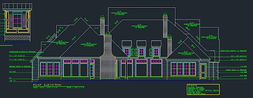 Exterior elevation plan image