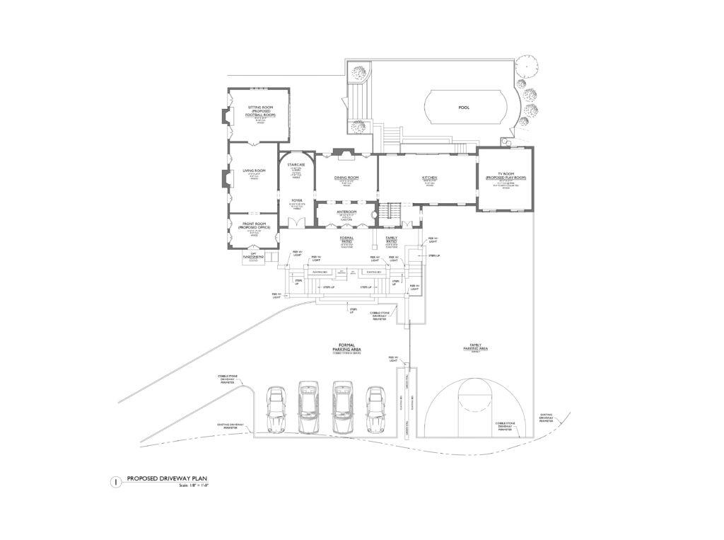 Goldblum Driveway plan image