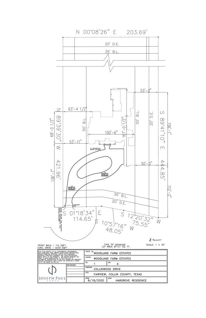 Hargrove plot plan scheme image