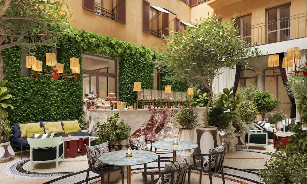 Interior rendering W Rome giardino clandestino image